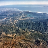 Aerial View of Ventura River Watershed